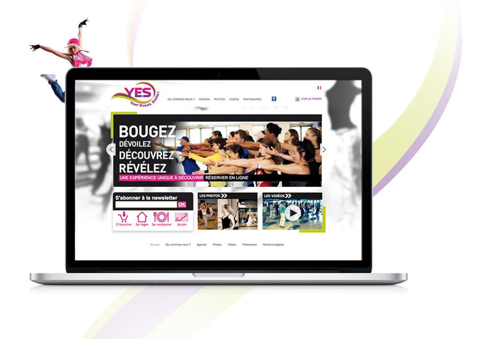 Y.E.S. ! Your Event. Smile ! • Agence événementielle dans le milieu sportif / Danse(s), Fitness, Pilates, Yoga