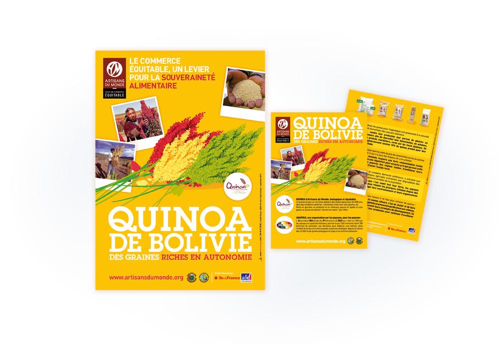 Artisans du monde • Campagne Quinoa