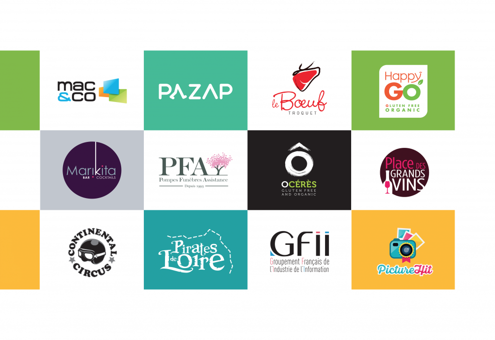 Créations d'identités de marques • Logos