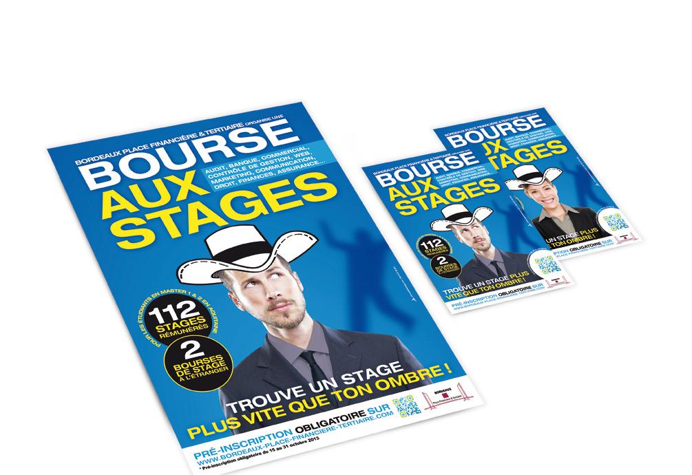 Bordeaux Place Financière et Tertiaire • Bourse aux stages