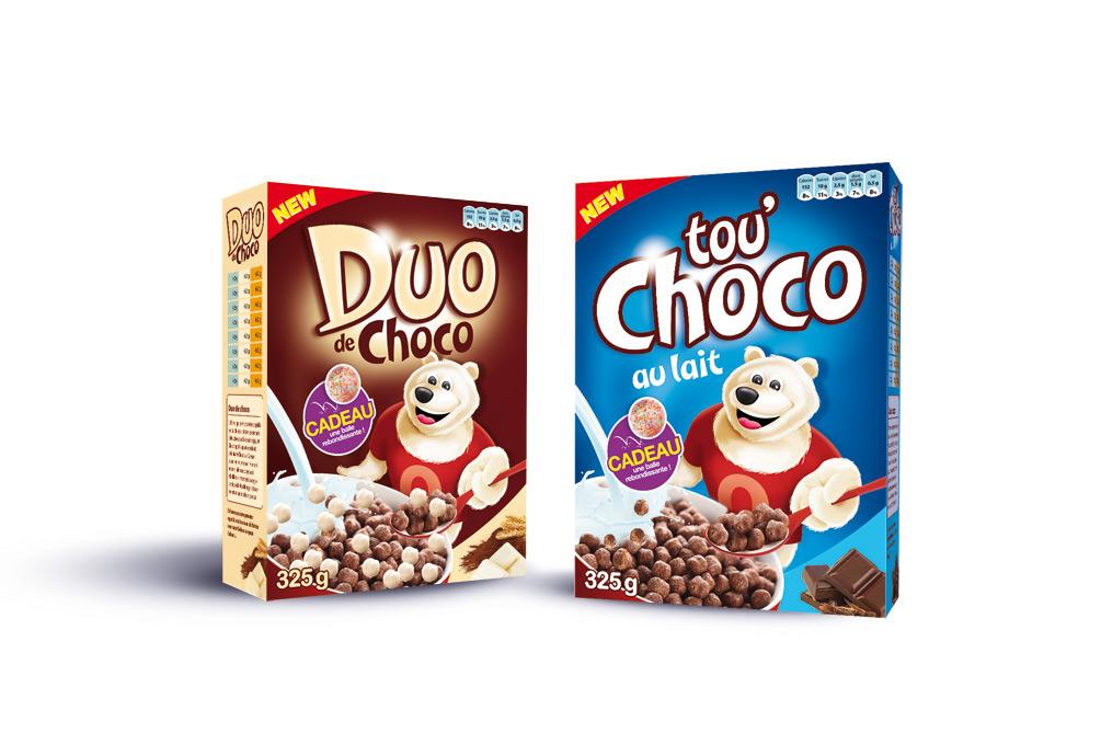 Céréales Duo Choco & Tou'Choco